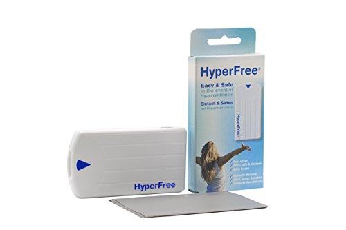 HYPERFREE INHALATIONSKASSETTE. Hyperventilationsanfall schnell und sicher zu beenden. Einfach und sicher bei Hyperventilation.