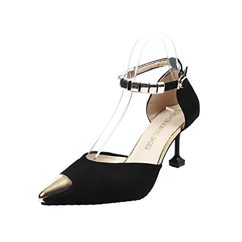 HoSayLike Damen Mode Lässig Spitz High Heels Dünne Fersen Schuh Einzelne Schuhe Sandalen Extreme...
