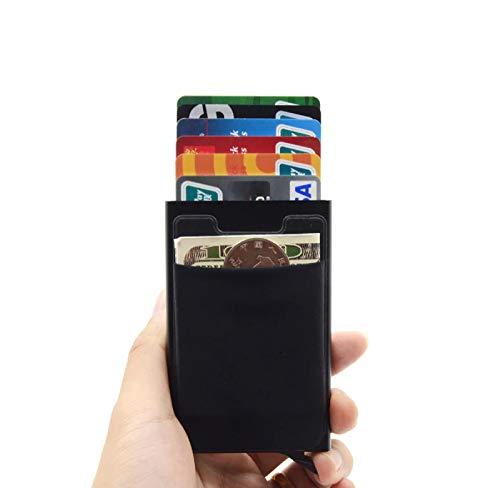 Carteira Porta Cartões Ultra Fino Alumínio Pop Up Original