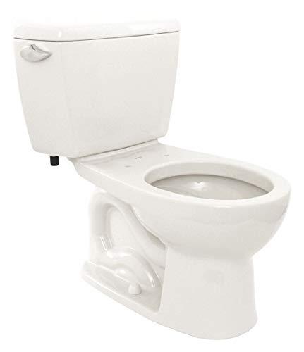 Toto Eco Drake 1.28 GPF Two-Piece Toilet CST743E#01 Cotton