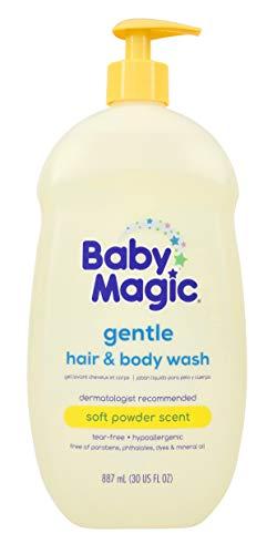 Baby Magic 2 In 1 Baby Wash & Shampoo, Calendula & Coconut, Calendula Oil & Coconut Oil, 30 Fl Oz