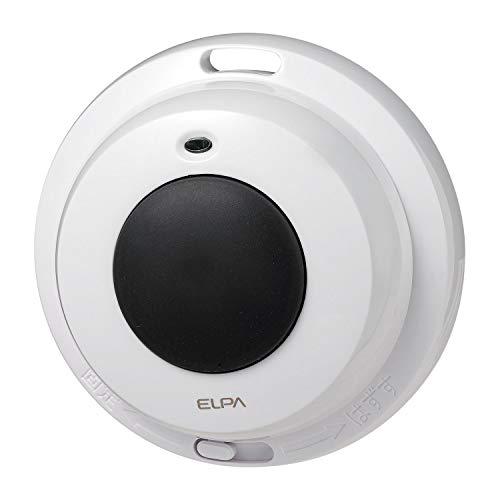 朝日電器 エルパ ELPA ワイヤレスチャイム 防水押しボタン送信器 EW-P3 [4037]