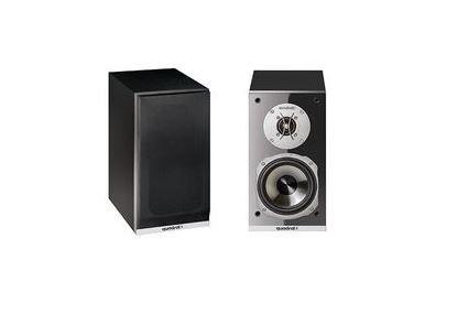Quadral ARGENTUM 520 60W Schwarz - Lautsprecher (2-Wege, Verkabelt, 60 W, 45-35000 Hz, Schwarz)