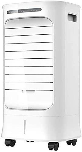 Air coolers Compact Conditioner 3-Wind Type Evaporative Cooler Purifier And Humidifier w/Remote Control Mobile Swamp Cooler Quiet Portable Ac Unit Perfect For Indoor Office Home