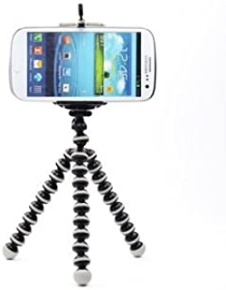 Sungpunet Octopus Style Portable and adjustable Tripod Stand with Mount / Holder for iPhone, Cellphone ,Camera with Case S...