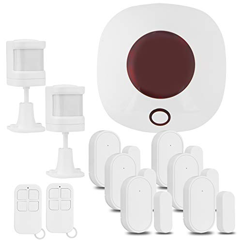 Home Alarm System House Burglar Security WiFi Wireless DIY Tuya