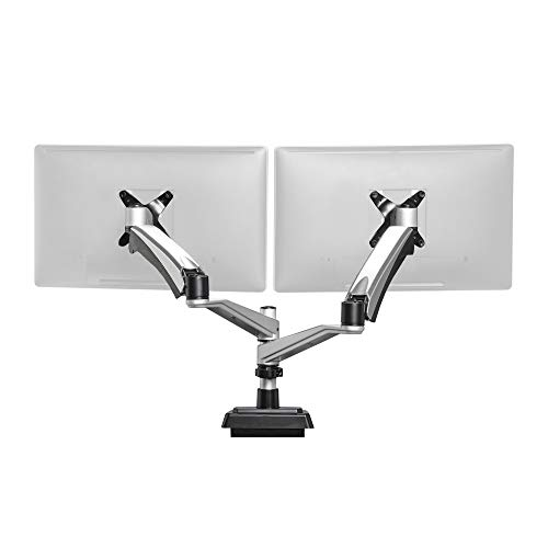 VARIDESK Full-Motion Spring Dual Monitor Arm