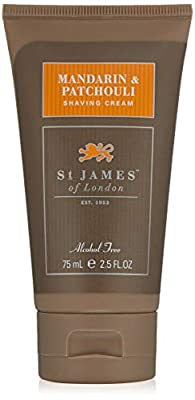 St James of London Mandarin & Patchouli Shaving Cream Tube
