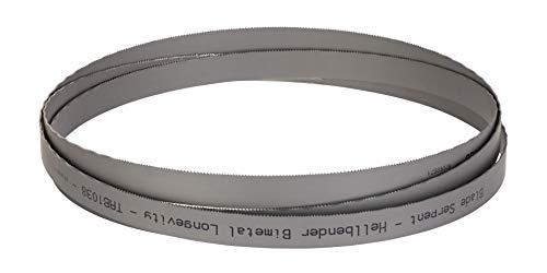 Hellbender Bimetal Longevity - 1 X 0.035-4/6 TPI - 150 in - Laser Welded Bi-Metal Alloy Bandsaw Blades - Special Bonded, Wear Resistant, Precision Blade For Fabrication, Metalworking