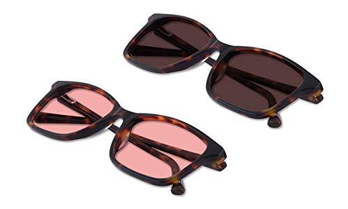 (Bundle) TheraSpecs Quinn Blue Light Glasses for Migraine, Light Sensitivity