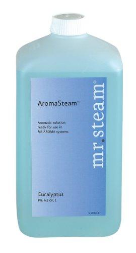 Mr. Steam Ms Oil5 Aromasteam Oils, 1-Liter (33 Oz.) For Aromasteam System Only, Breathe