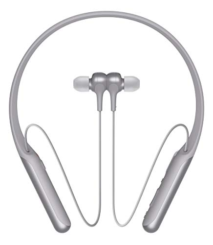 Sony WI-C600N - Auriculares Neckband inalámbricos (Bluetooth, Noise Cancelling con Inteligencia Artificial...