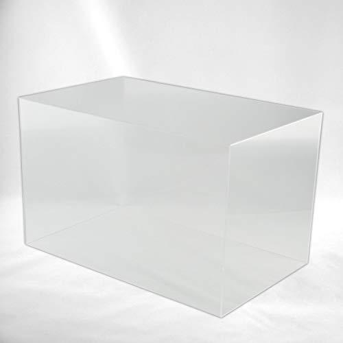 Hansen Haube Acryl/Schaukasten/Ausstellungshaube/Acrylhaube/Abdeckhaube/Showcase rechteckig, in verschiedenen Größen