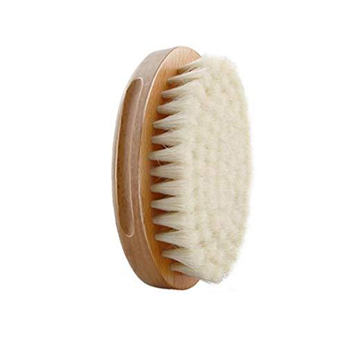 asdfwe Natürliche Eber-borste-bart-bürsten Für Männer Griff-bart-Schnurrbart-bürsten-Geschenk Gesicht Grooming Haarstyling
