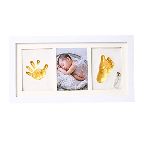 LITIST Baby Hand and Footprint Kit No tóxico Sin Hornear Recuerdo de Arcilla para Imprimir Regalos Personalizados para bebés para el Registro de bebés
