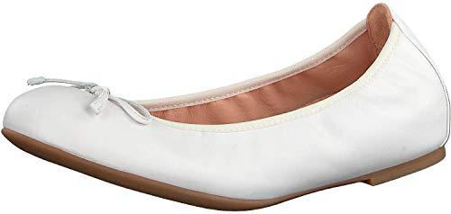 Unisa Damen Ballerina Acor Weiss Gr. 38
