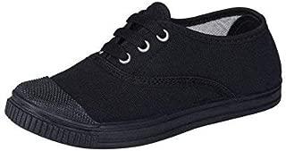Onbeat Kids Black PT School Shoes