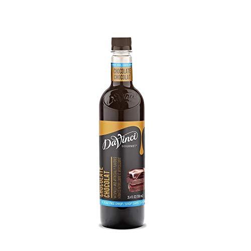 DaVinci Sugar Free Chocolate Syrup 750ml Plastic Single Bottle