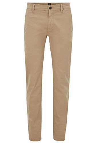 BOSS Herren Schino-slim D Hose, Braun (Light/Pastel Brown 239), 34W 32L EU