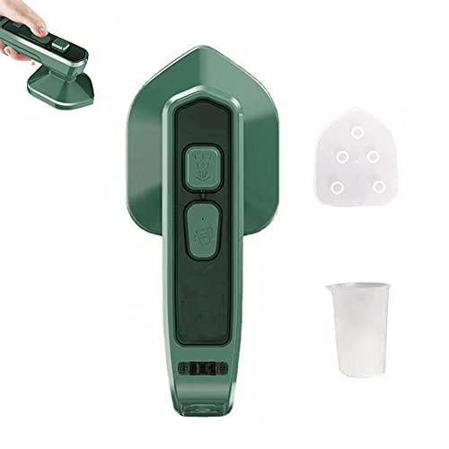 Micro plancha de vapor profesional, mini planchadora portátil, plancha de vapor doméstica colgante, vaporizador ligero para la ropa, soporta el planchado en seco y en húmedo, adecuado para el hogar