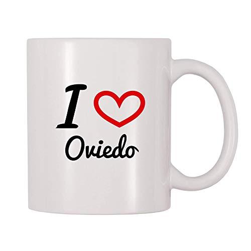 Not Applicable Amo la Taza de café de Oviedo (11 onzas)