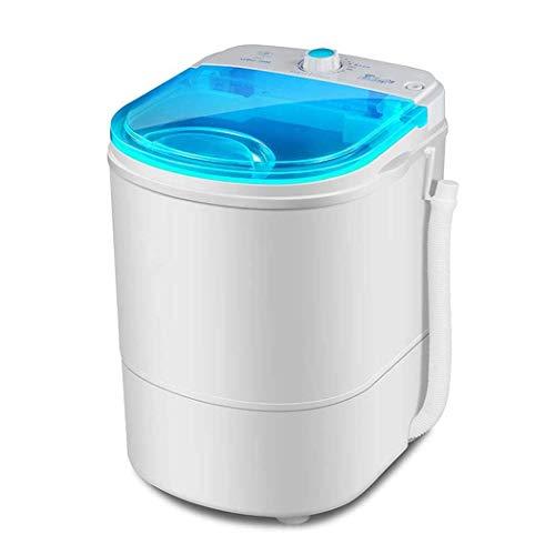 Mini Lavadora Portable, Máquina del Lavadero, Buen Efecto Que Se Lava Mini Portable Pequeño 2 Kilogramos De Capacidad 260W