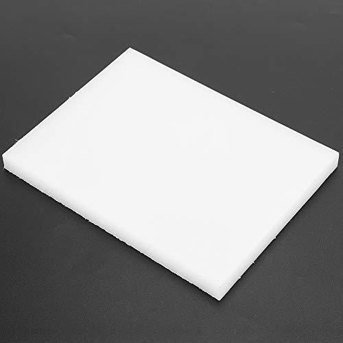 1 pieza de almohadilla de perforación artesanal de cuero de 7,9 x 5,9 x 0,6 pulgadas, tabla de cortar de estampado de cuero, resistencia al envejecimiento por corrosión a alta temperatura