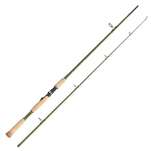FLADEN Fishing VANTAGE PREDATOR Spinning Carbon Stylish fishing Rod with...