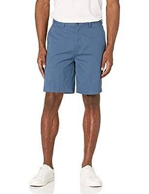 "Amazon Essentials Men's Classic-Fit 9"" Short, Blue, 34"