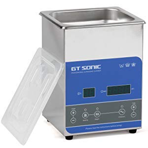 GTSONIC 超音波洗浄機 業務用 小型 大型 眼鏡 腕時計 メガネ レコード 超音波洗浄器 加熱 超音波 クリーナー 2L-27L 超音波 洗浄機 50W-500W 40khz 脱気 超音波 洗浄 (2.0L)