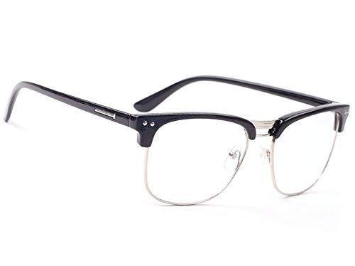 Sun Readers Retro 1.5 Reading Glasses Holiday Men's Women's 1.5 Sun Rubi Black)