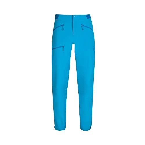 Mammut Herren Softshell-hose Pordoi, blau, 56 short