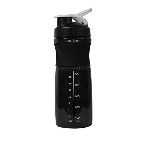 J Sports Protein Shaker Cup BPA-freier Sport Auslaufsicherer Wasserkocher Wasserkocher Cup 26oz / 760ml für Fitness und Reisen