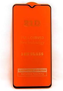 لاصقة حماية زجاجية لجهاز شاومي ريدمي نوت 8 برو 21D - اسود