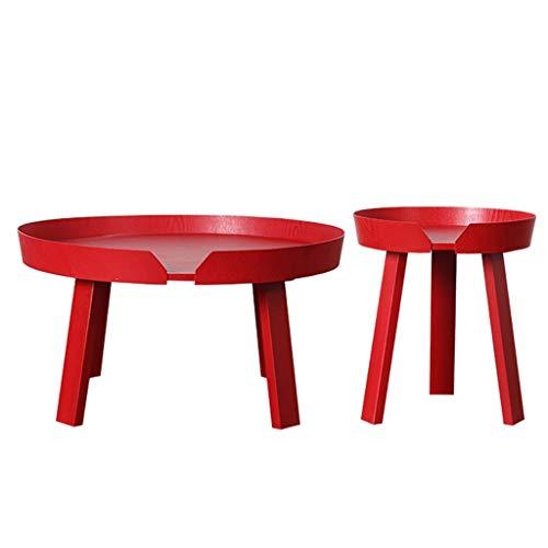 Xu-table houten bijzettafel rond Oosters, dessert tafeldecoratie, restaurant koffie Pittura tafel/Nieuwjaar