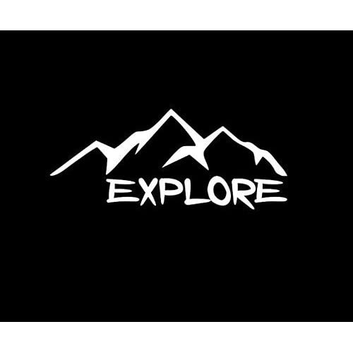 Explore Decal Hiking Vinyl Sticker Camping Decal Nature Decal Explore Laptop Decal Explore Vinyl Decal Tumbler Decal