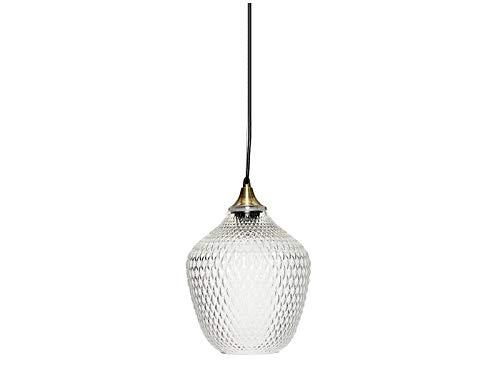 Hübsch - Lámpara de Techo Bola de Cristal (Diámetro de 22 cm), Transparente