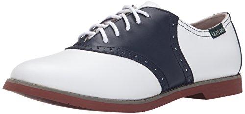 Eastland womens Sadie oxfords shoes, Navy Multi, 8.5 US