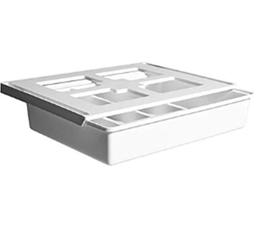 Timess Pop-Up Schreibtisch Organizer self Adhesive Drawer Pencil Tray Selbstklebende Schublade Stationery aus Kunststoff Unterbau Schublade Unter dem Schreibtisch Bleistiftablage Stifthalter (Groß)