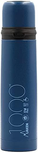 Laken Termo de Acero Inoxidable con Tapón-Vaso 1L color Azul