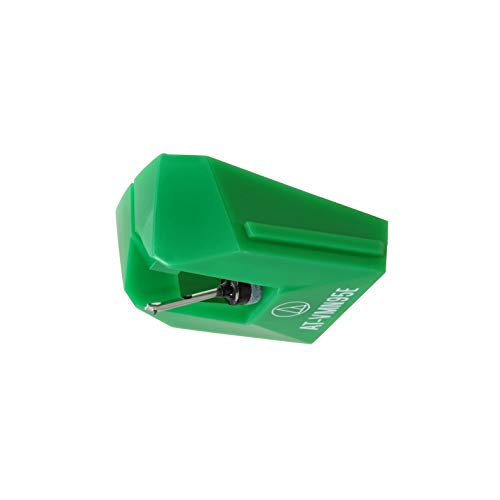 Audio TechnicaAT-VMN95E Elliptical Stylus for use with Cartridge AT-VM95E (Green)
