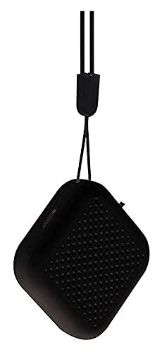 GDYJP Purificatore d'Aria Portatile, Mini Collana depuratore d'Aria USB Purificatore d'Aria Purificatore a Basso Rumore del generatore Negativo for i Bambini Adulti Piccolo (Color : Black)
