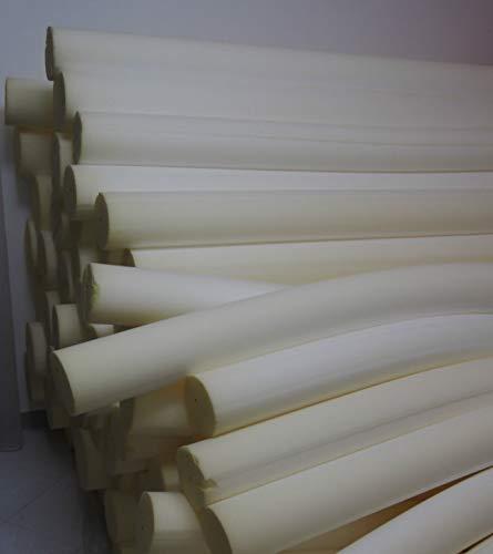 Cuscino Rullo Cilindro GOMMAPIUMA per Divano Poltrona Letto Varie Misure (200, 20)