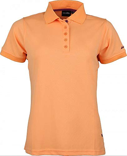 High Colorado Outdoor Seattle-L Polo fonctionnel pour femme Orange FR:38 papaye
