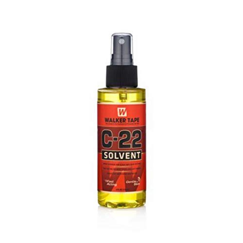 WALKER TAPE C-22 Citrus Solvent Hair Wig/Patch Adhesive Remover (4 Oz, 120ml)