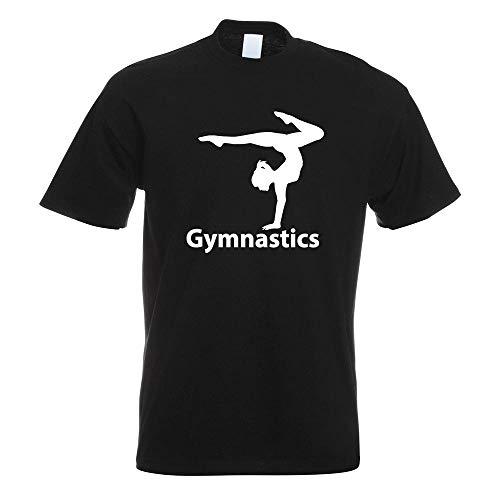 Gymnastics T-Shirt Motiv Bedruckt Funshirt Design Print