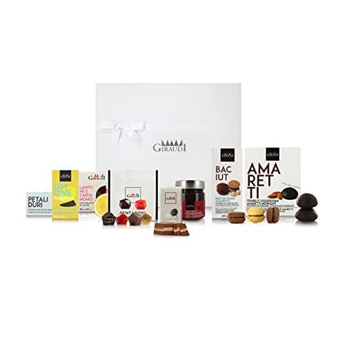Caja de Productos Dulces Italianos para Regalar en Navidad, Caja N°5: Especialidades con Chocolate Gourmet, 1,18 Kg
