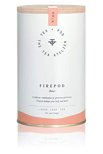 No.08 FIREPOD - Grüner Tee mit Acai und Goji-Beeren - 100 g - Eistee - Ice Tea - | N° 08 by Teapod Atelier