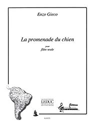 Gieco enzo la promenade du chien flute solo book