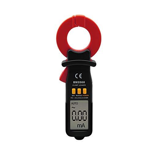 QPLNTCQ Multímetro Digital Medidor de Pinza Digital de Prueba de Corriente de Fuga Profesional BM2060 Que Mide la precisión de la microcorriente a 0.01A